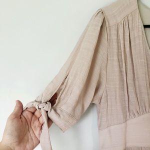 Midi tie dress